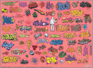 Graffiti: Modern Urban (2 sets) - AWD002 AWD003 - Multiple Scales - Waterslide