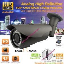 Analog HD 1.3MP SONY CMOS AHD 960P Night Vision Waterproof CCTV Security Camera