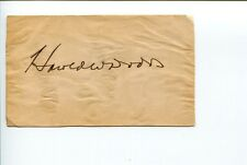 Harold W. Dodds Princeton University President Author Signed Autograph FDC