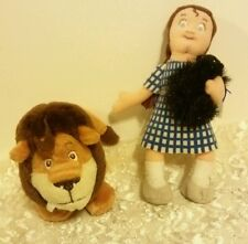 Wizard of Oz Dorothy and Cowardly Lion Beanbags Dorling Kindersley Furrytails