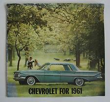 1961 Chevrolet Impala Brochure