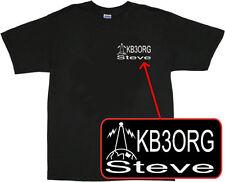 Personalized Amateur Ham Radio T Shirt tshirt t-shirt