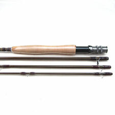 Carbon Fly Fishing Rod 4 Sections Length 9FT 3/4 Light Feel Medium-Fast Action
