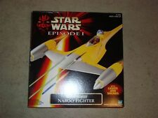 1998 STAR WARS EPISODE I ELECTRONIC NABOO FIGHTER R 2 D 2  IN ORIGINAL BOX 1998!