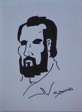 SPAIN RODRIGUEZ original art, Sketch, 2006,  8x11, lots more art in store