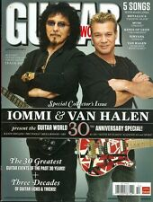 2010 Guitar World Magazine: Iommi & Van Halen - 30th Anniversary Issue