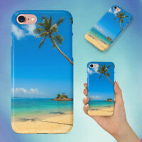 BEACH VACATION SAND SUMMER HARD BACK CASE FOR APPLE IPHONE PHONE