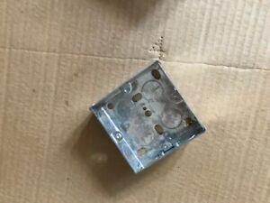 25mm switch / socket back box NEW