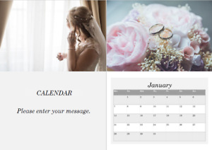 2021 Bespoke A4 Wall Calendar with your own Photos