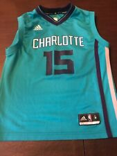 Kemba Walker CLT Hornets Youth Official Basketball Jersey Teal Youth Medium