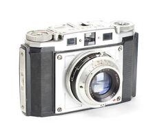 Braun Nurnberg Gloria Rangefinder 6x6 Camera with Bayreuth Praxar 2.9/75mm AS-IS