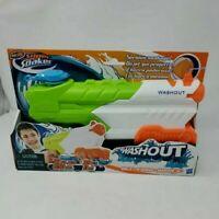 NERF SUPER Washout Water SPRAYER Toy Gun Soaker 22oz 38 feet ! NEW Age 6+