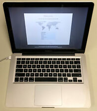 "Apple MacBook Pro 13"" A1278 2.4GHz Core 2 Duo 8GB RAM 250GB HDD 10.13 2010 READ"