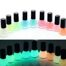 Glow in the Dark Neon Fluorescent Nail Polish Varnish Luminous Paint 12 color CN