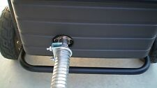 """Honda EU6500is & EU7000is Inverter Generator 1-1/2"""" steel exhaust extension 2 ft"""