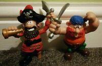 "Pirates Toy Figures X2 Playset 3"""