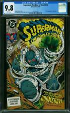 SUPERMAN: THE MAN OF STEEL #18 CGC 9.8 NM/MTM ~ 1ST APP DOOMSDAY