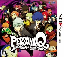 Nintendo 3DS Persona Q Shadow Of The labyrinth Japan Game Japanese