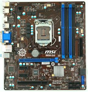 SCHEDA MADRE MSI B85M-E45 SOCKET LGA1150 x CPU INTEL DI 4 GENERAZIONE (4th Gen.