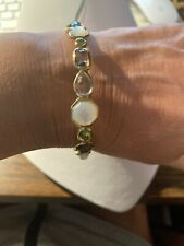 Ippolita Rock Candy 18k Yellow Gold Multi-colored Stones & MoP Bracelet $3,850