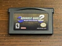 Advance Wars 2 Black Hole Rising Gameboy Advance Authentic Tested Cleaned