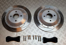 Focus RS MK3  REAR 330mm 2 piece brake disc kit, big 330mm upgrade.