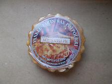 Yankee Candle Rare USA (Deerfield) Mom's Apple Pie Wax Tart