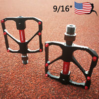 "PROMEND 9/16"" Aluminum MTB Road Bike/Bicycle Pedal M86/R87 Fit SHIMANO/SRAM/FSA"