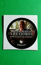 "ATTEN BOROUGHS LIFE STORIES LIFE ON CAMERA TV SM 1.5"" GETGLUE GET GLUE STICKER"