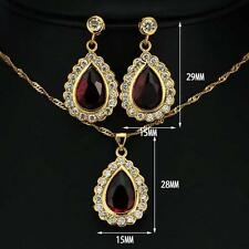 Cubic Zirconia Gold Indian Jewellery Sets