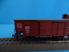 Marklin 4695 DRG Closed Goods Car with Breakershouse version 1