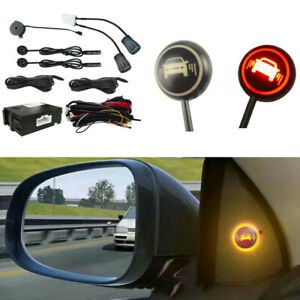 New Car Blind Spot Detection Universal Rear View Sensor Safety Monitoring System