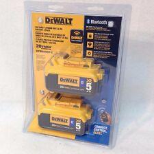 DEWALT DCB205BT-2 20V MAX 5.0Ah Bluetooth Battery - 2 Pack - SEALED