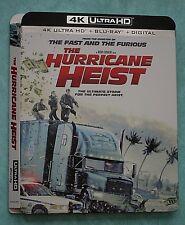 THE HURRICANE HEIST 4K Blu ray slipcover