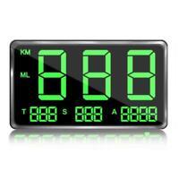 Car Digital GPS Speedometer Head-up Display Overspeed MPH KM/H Warning Alarm