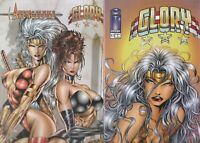 GLORY 25 COMIC BOOK LOT   ALL   NM  IMAGE/ AVATAR