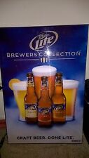 Miller Lite Beer Brewers Collection Craft Beer Light Box Sign *RARE* Find!