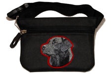 Labrador Retriever black Dog treat pouch/bag for dog shows & training.