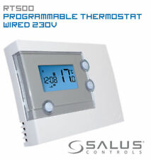 SALUS RT500 digitale 7 DAY TERMOSTATO AMBIENTE PROGRAMMABILE ELETTRONICO Riscaldamento STAT