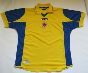 COLOMBIA Copa America 2004 home jersey shirt LOTTO trikot Los Cafeteros SIZE XL