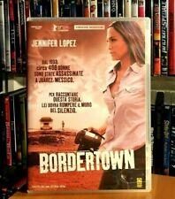 BORDERTOWN (2006) con Jennifer Lopez DVD OTTIME CONDIZIONI