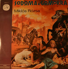 "East - SOUNDTRACK - Sodom and Gomorrah - Miklos Rozsa 12 "" 2 LP (L458)"