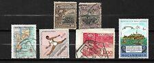 Lot de 6 timbres - MOCAMBIQUE (o) - Oblitérés - (116)