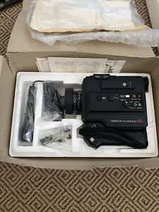 Vintage Minolta XL-Sound 42 Super 8 Camera Bundle With Microphone In Box NEW