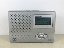 Radio Shack SAME Weather Radio NOAA With Alarm Clock 120-261 Public Alert Cert.