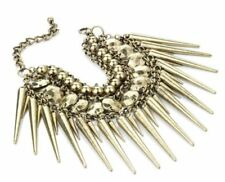 Unbranded Hook & Eye Mixed Metals Costume Bracelets