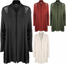 Long Sleeve Viscose Jumpers & Cardigans Plus Size for Women