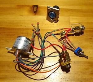 Hammond 1140 - DB - A  DI box transformer + accessories for passive DI box
