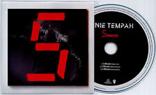 TINIE TEMPAH 5 Minutes 2014 UK 3-track promo test CD + press release