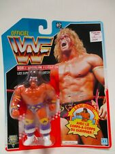 1991 HASBRO WWF VINTAGE ULTIMATE WARRIOR MOC FRENCH SERIES 3 PURPLE TRUNKS